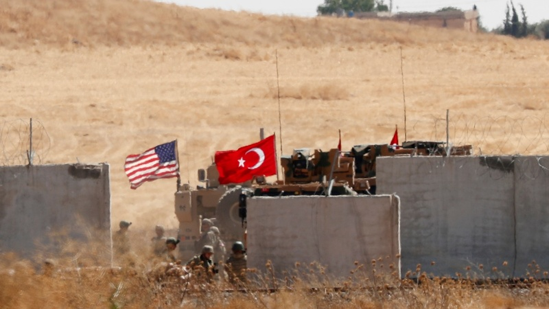Before offensive, Turkey says it hits Syria border