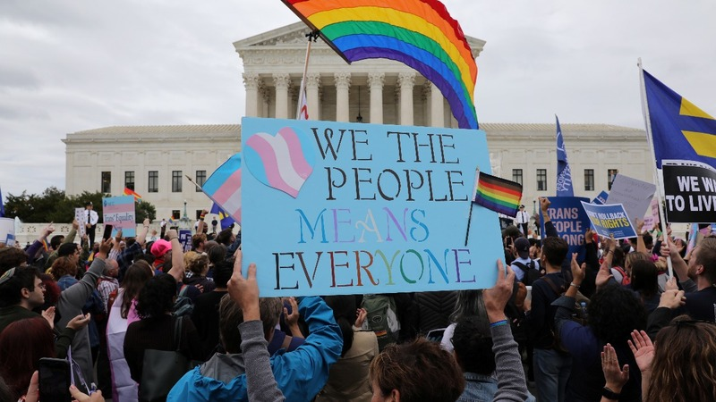 Supreme Court divided over LGBT rights cases