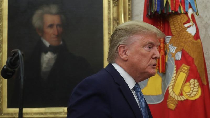 Trump attacks whistleblower, Biden says impeach
