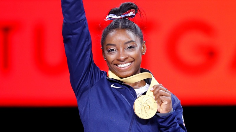 Biles by miles: Simone claims record 5th world title