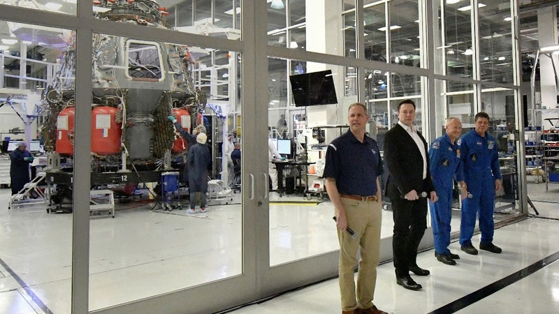 NASA, SpaceX hope for crewed missions by 2020