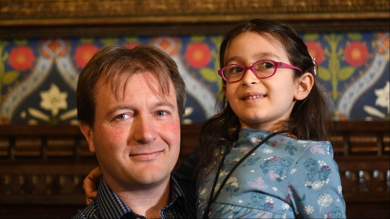 Nazanin's daughter reunited with father in UK