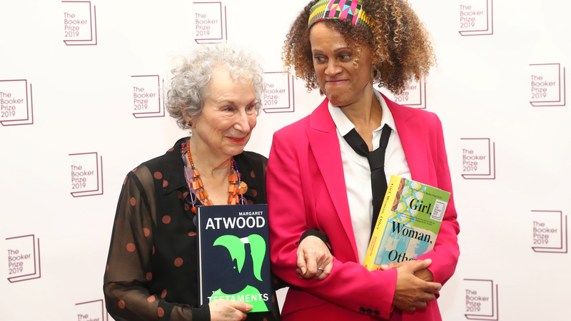 Atwood, Evaristo take literature's Booker Prize