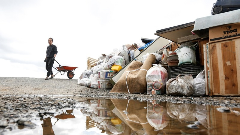 Japan struggles in aftermath of deadly typhoon