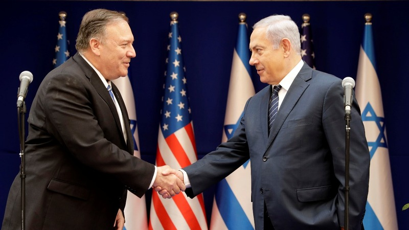 Pompeo to Israel: U.S. focus still on Iran 'threat'
