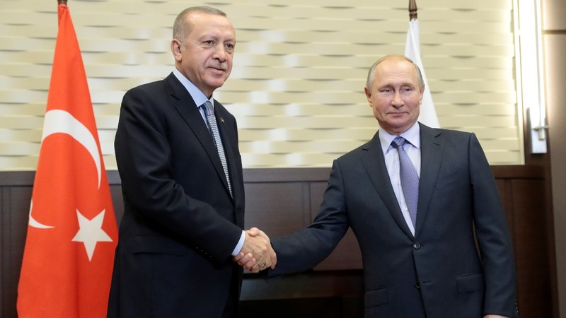 Putin, Erdogan meet as Syria ceasefire ends