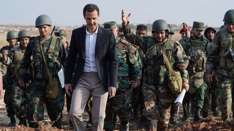 Putin, Assad solidify their dominance in Syria