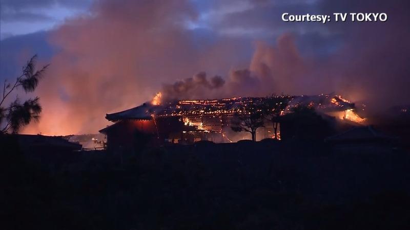 Fire engulfs Japan's World Heritage Shuri Castle