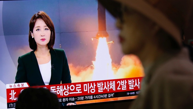 North Korea fires missiles, Japan says