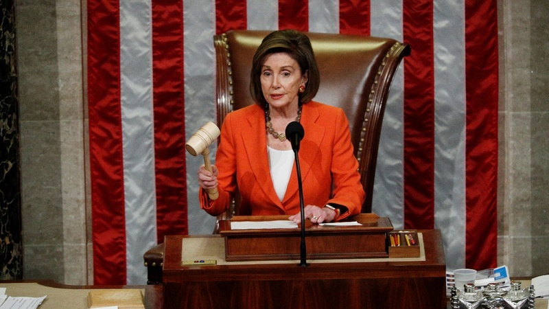 House passes resolution on impeachment rules
