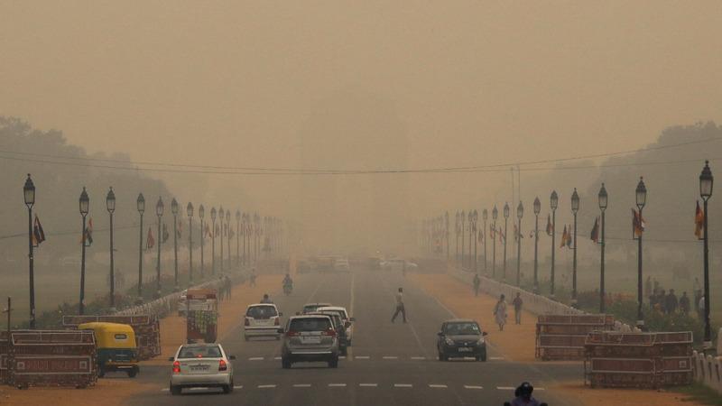 New Delhi's smog crisis forces masks onto kids