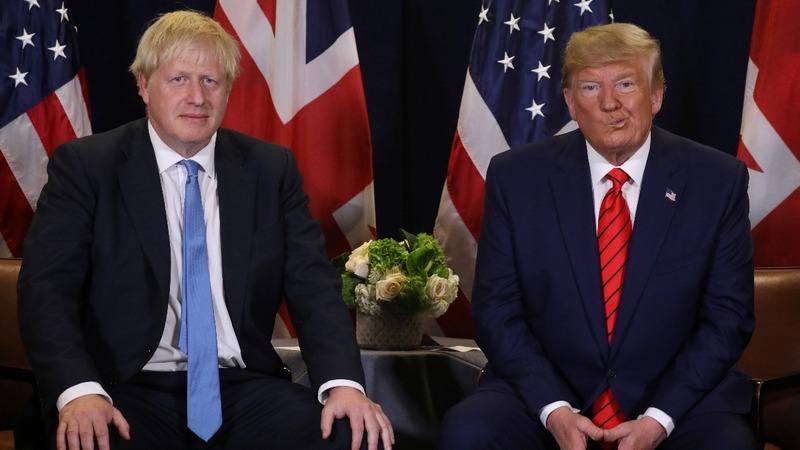 Brexit plan may threaten U.S. deal: Trump