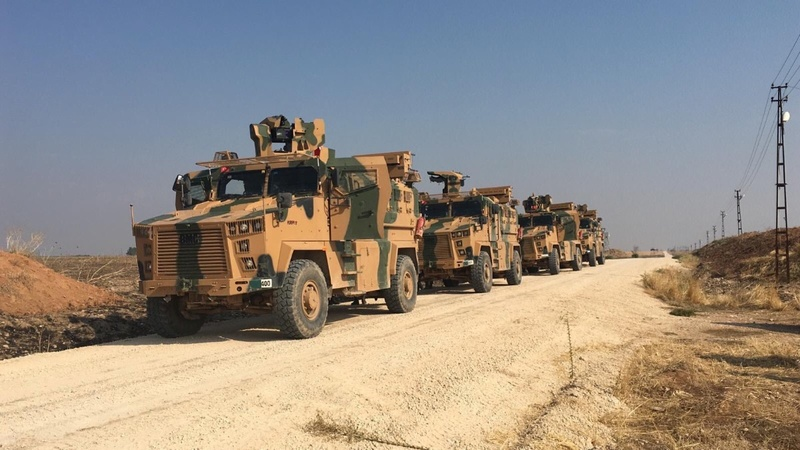 Turkey, Russia begin joint patrols in Syria