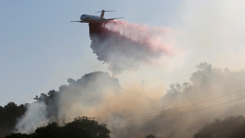 Firefighters make progress against Maria fire