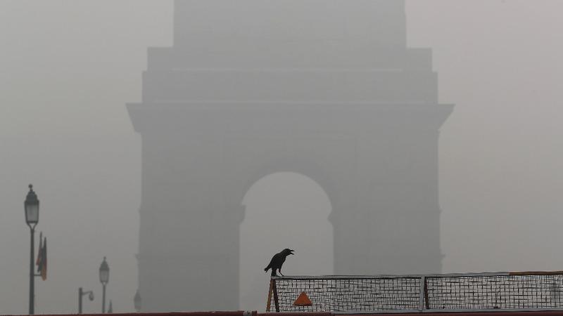 Air quality turns 'hazardous' in Delhi