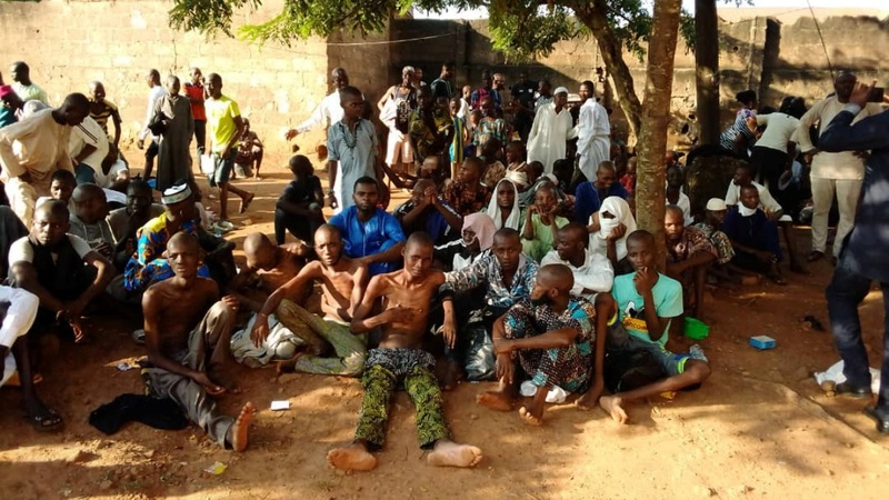 Nigerian police free 259 from Islamic institution