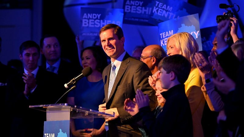Dems claim victory in Kentucky, seize Virginia