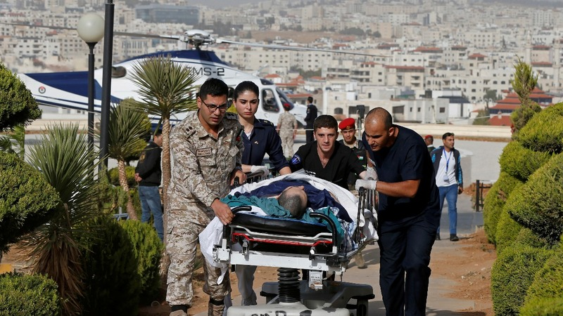 Tourists stabbed in Jordanian city