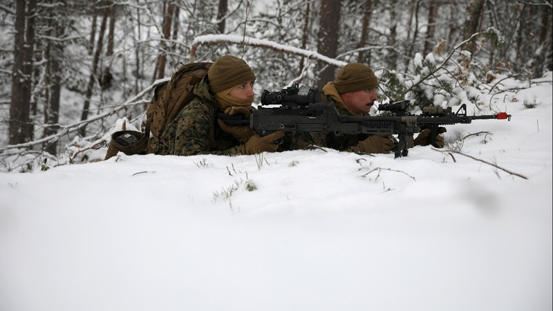 Tensions rise at Norway's icy border with Russia