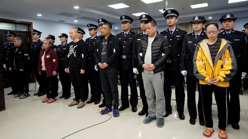 China/U.S. teamwork jails fentanyl smugglers