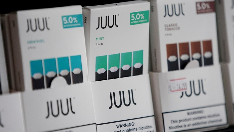 Juul Labs to stop sales of mint-flavored nicotine pods in U.S.