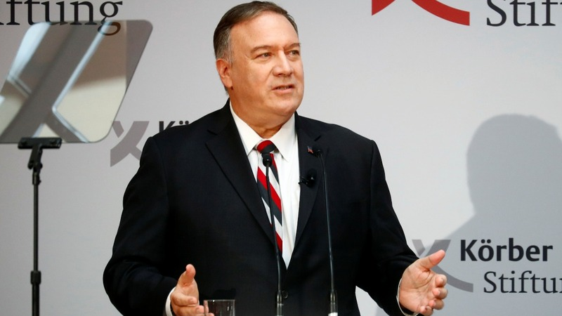 Pompeo compares Russia, China to Berlin Wall era