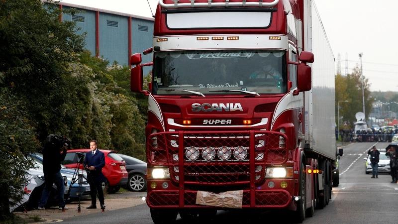 UK police name Vietnamese truck victims