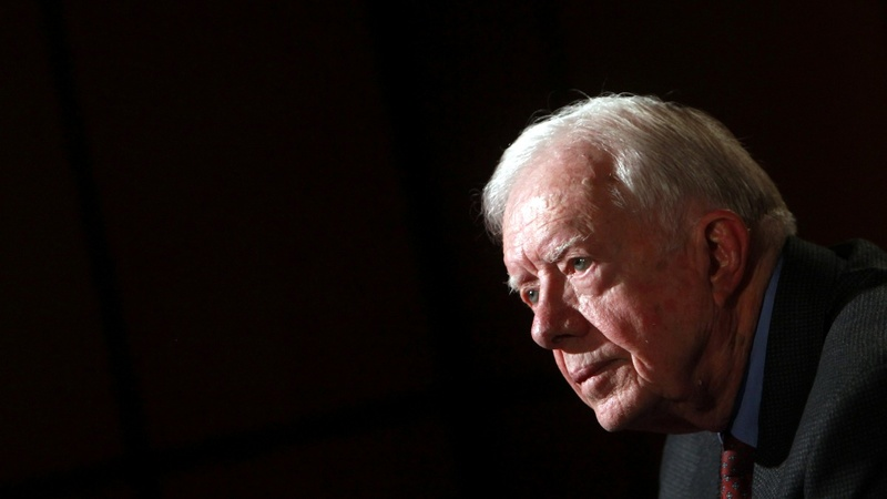Jimmy Carter hospitalized for blood on the brain