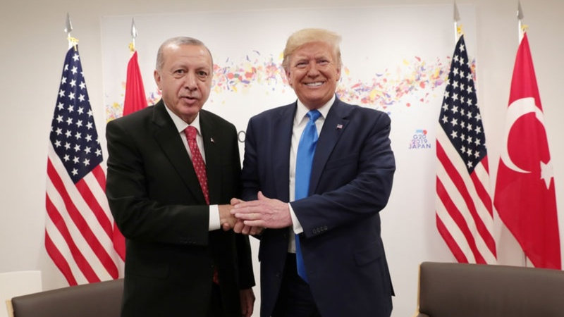 The Trump-Erdogan 'bromance' holding it together