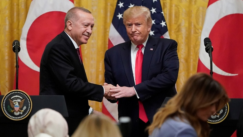 Trump and Erdogan fail to resolve conflicts