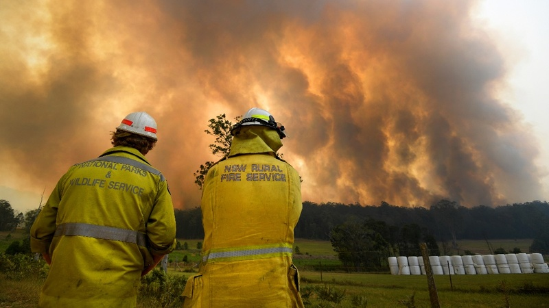 Lack of rains to prolong Australian bushfires