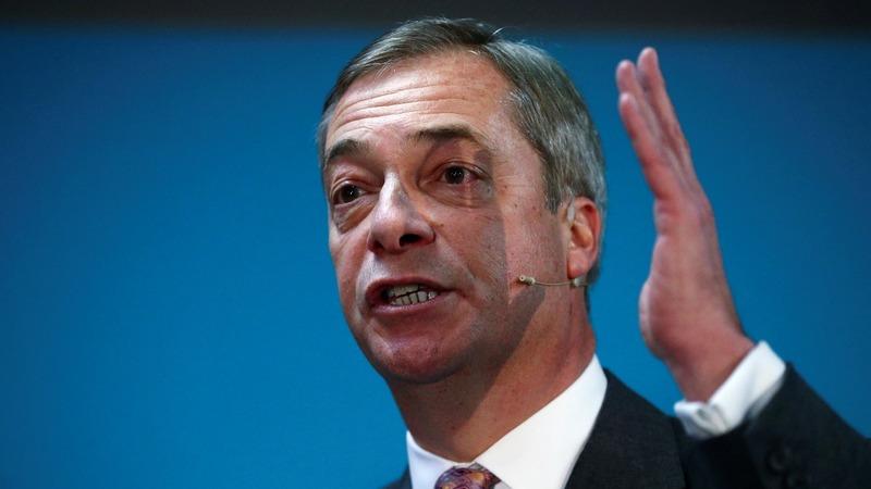 Farage decries Tories' 'disgraceful tactics'