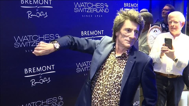Rolling Stones' Ronnie Wood speaks art, Picasso at watch launch