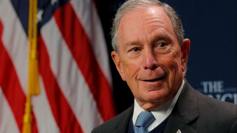 Bloomberg would cut into Biden's lead - poll