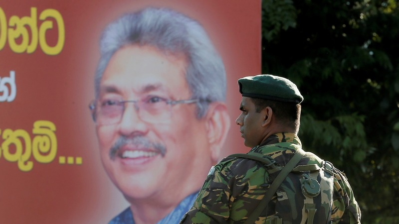 Sri Lanka's new president: war hero or criminal?