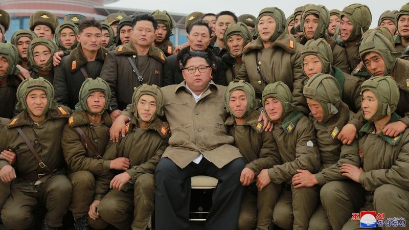 North Korea's Kim supervises drills: state media