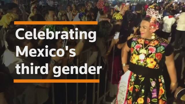 Mexican town celebrates its third gender Muxes