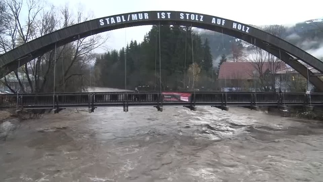 Austria hit by heavy snow and flooding