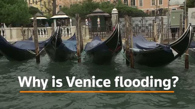 Why is Venice flooding?
