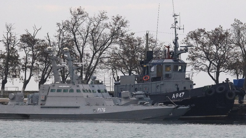 Russia returns captured Ukrainian navy ships