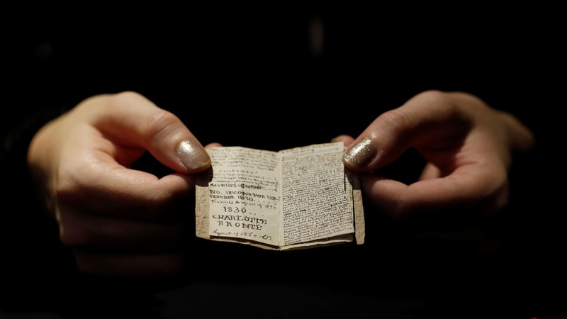 Bronte manuscript returns to author's home