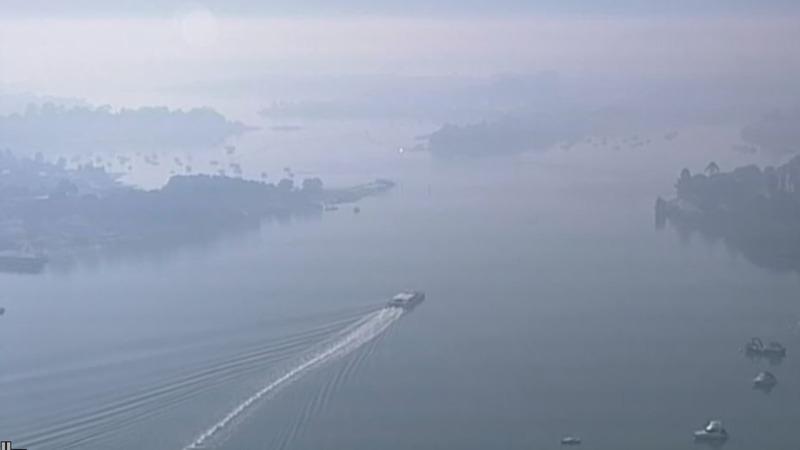 Hazardous bushfire smoke smothers Sydney
