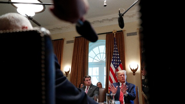 Trump blasts impeachment hearing as witnesses testify