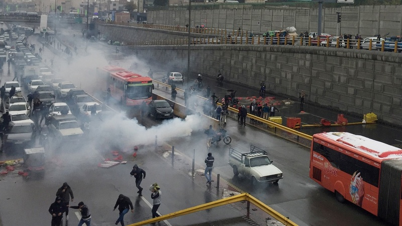 Over 100 killed in Iran unrest: Amnesty Intl.