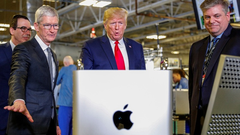 Trump considers Apple exemption from China tariffs