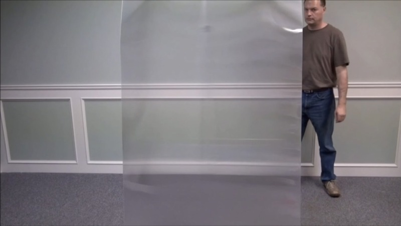 Want to disappear? Try this invisibility cloak