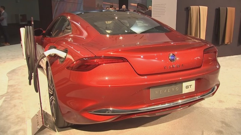 Electric craze revs up at LA Auto Show
