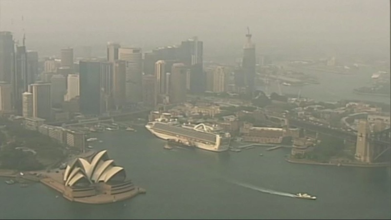 Bushfires put Sydney among worst-polluted cities