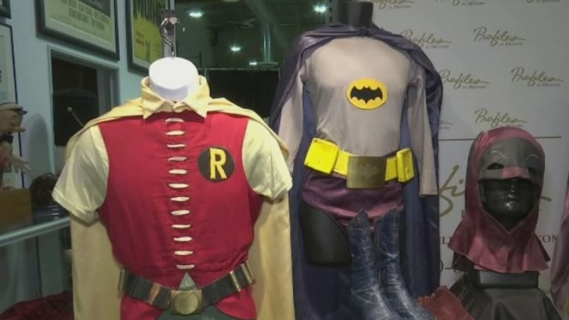 60s Batman and Robin costumes head to auction