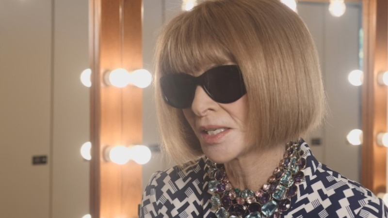Vogue's Wintour: Cherish clothes then pass them on